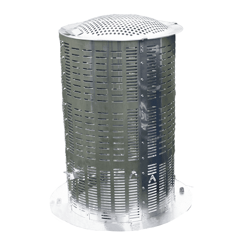 Large hi-Temp Mini Incinerator