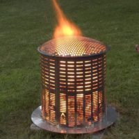 large incinerator