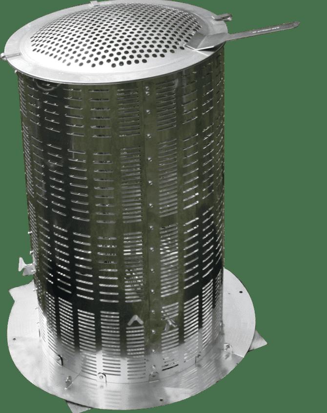 Extra Large Hi-Temp Mini Incinerator