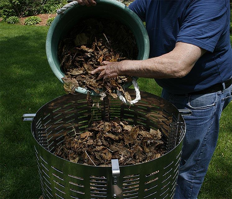 yard waste incinerator