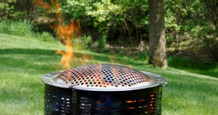 burn barrel spring clean-up